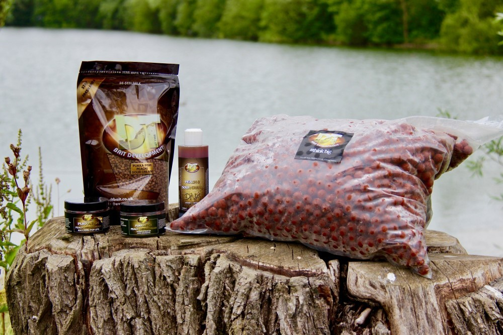 Pukka Fish Peach & Sour Cream Boilies 5 kg