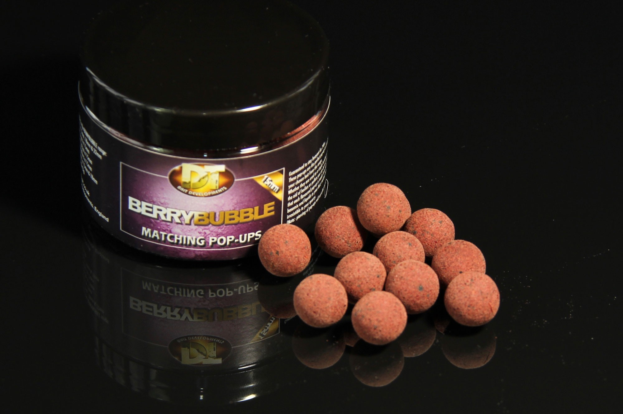 Berry Bubble POP-UP Boilie 15mm