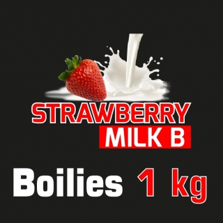 Strawberry Milk B Boilies 1 kg